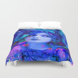 Crystal Cave Duvet Cover