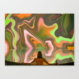 Acid Pool Canvas Print