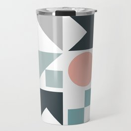 Modern Geometric 09 Travel Mug