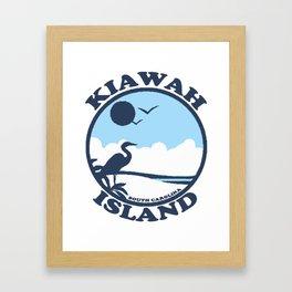 Kiawah Island - South Carolina. Framed Art Print
