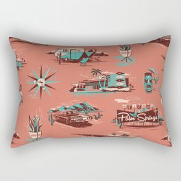 WELCOME TO PALM SPRINGS Rectangular Pillow