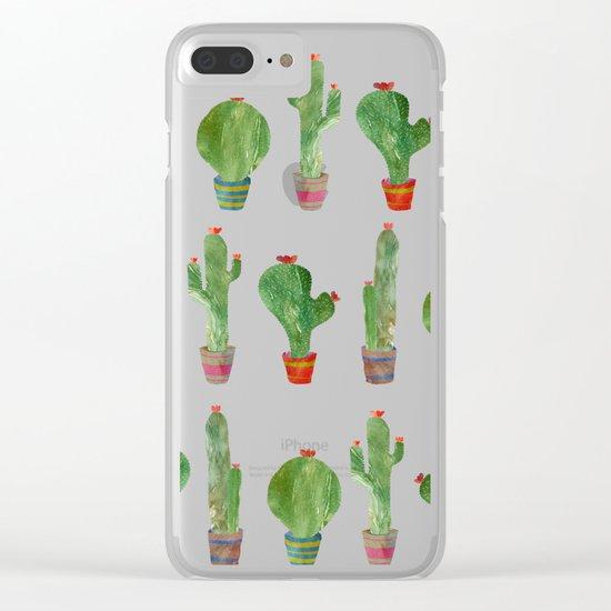 Cactus! Clear iPhone Case