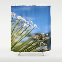 Delicate Eze Friends Shower Curtain