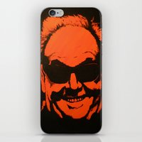 jack nicholson iPhone & iPod Skins featuring Jack by Ty McKie Creations