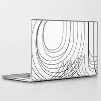 helvetica Laptop & iPad Skins featuring Helvetica Condensed 002 by INDUR