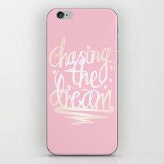 Chasing The Dream iPhone & iPod Skin