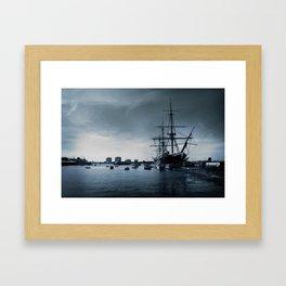 Ship The Warrior HMS 1860 Framed Art Print