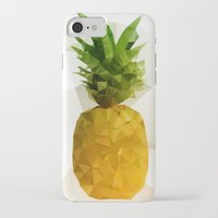 pineapple iPhone & iPod Cases featuring Pineapple by Three of the Possessed