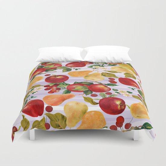 fruit fall Duvet Cover