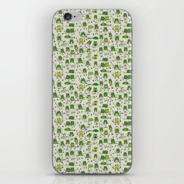 Happy Frogs iPhone Skin