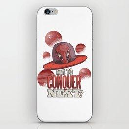 Alien conqueror iPhone Skin