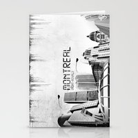 montreal Stationery Cards featuring Montreal by Yan-k