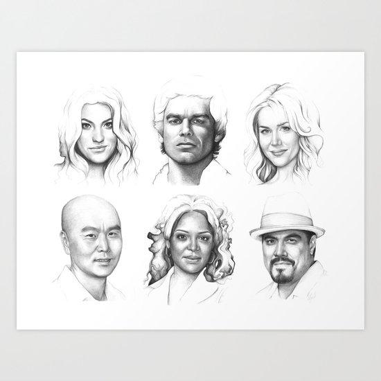 Dexter Art Art Print