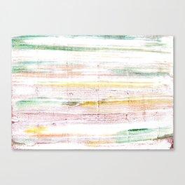 Baby powder abstract watercolor Canvas Print
