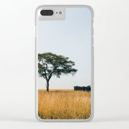 African Summer Clear iPhone Case