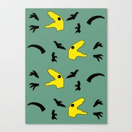 Dinosaur Disassembly Canvas Print