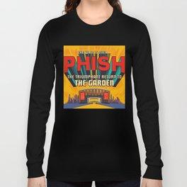 PHISH THE WAIT IS OVER TOUR DATES 2019 KURA KURA Long Sleeve T-shirt