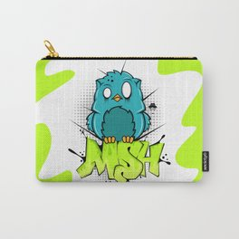 Zombie owl graffiti Carry-All Pouch