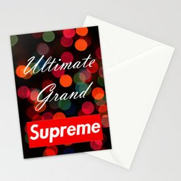 Ultimate Grand Supreme Stationery Cards