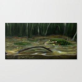 Calm Water Canvas Print