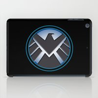 shield iPad Cases featuring Shield by livinginamovie