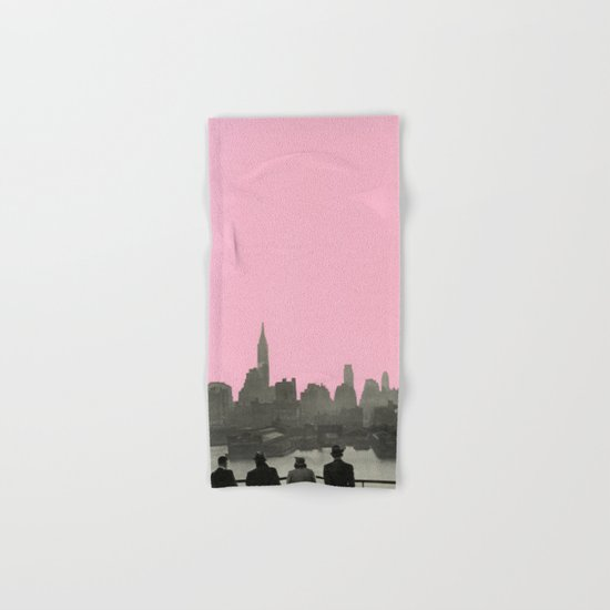 New York Nights Hand & Bath Towel