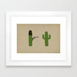 Stick'em Up Framed Art Print