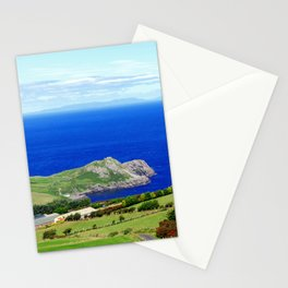 Landscape of Antrim coast. Northern Ireland Stationery Cards