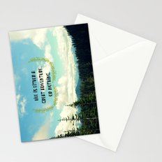 Life is a Great Adventure Stationery Cards