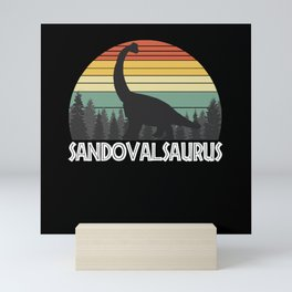 SANDOVALSAURUS SANDOVAL SAURUS SANDOVAL DINOSAUR Mini Art Print