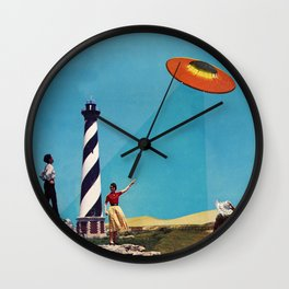 Did You Guys See It? Wall Clock