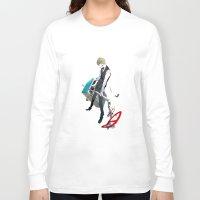 durarara Long Sleeve T-shirts featuring Heiwajima Shizuo 1 by Prince Of Darkness