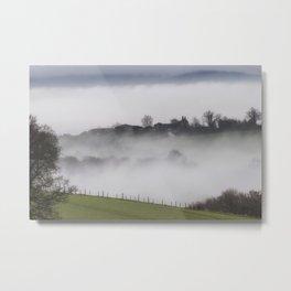 The Farm House Beyond - II Metal Print