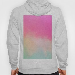 Modern Contemporary Pink Pastel Abstract Hoody