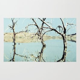 Three Trees in the Sea - Salton Sea California Rug
