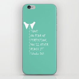 QUOTE-6 iPhone Skin