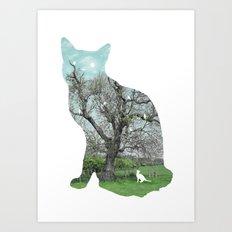 A cat's life III Art Print
