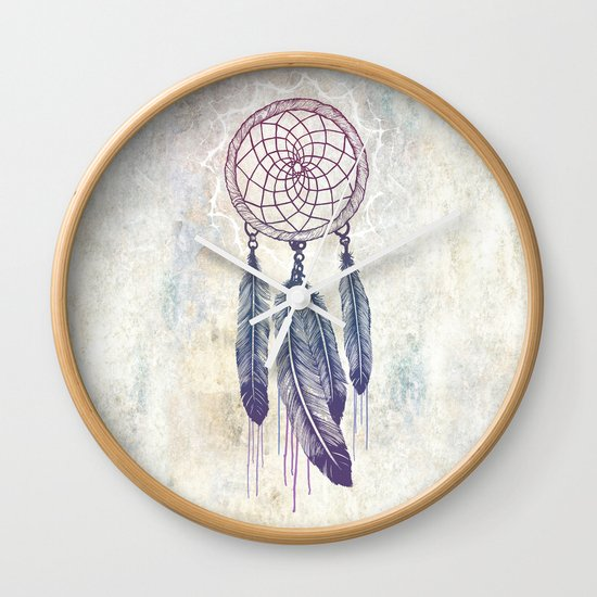Catching Your Dreams Wall Clock