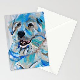 Colorful Great Pyreneese Stationery Cards