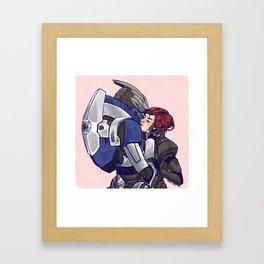 come back alive Framed Art Print