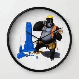 Building an Empire (Wordless) Wall Clock