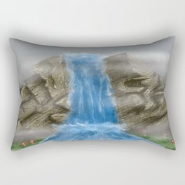 Mists in the Fall Rectangular Pillow