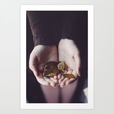 Goodbye Art Print