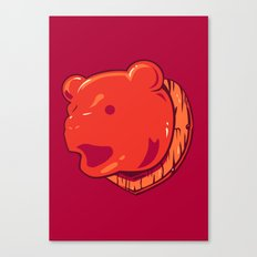 Bear prize Canvas Print