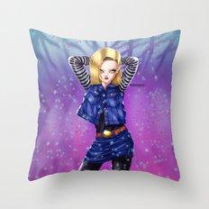 GO18 Throw Pillow