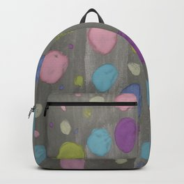 Pastel Bubbles Abstract Backpack