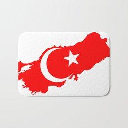 Turk Bayragi Bath Mat