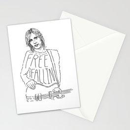 Tom Petty Free Fallin' Stationery Cards