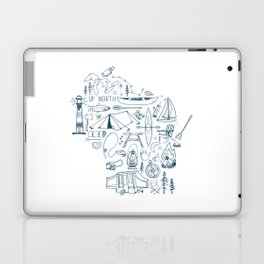 Wisconsin Up North Collage Laptop & iPad Skin