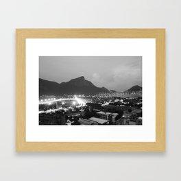 Corcovado Framed Art Print